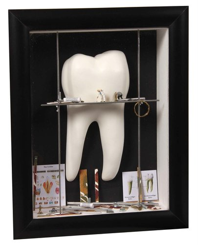Shadow box small Tooth white