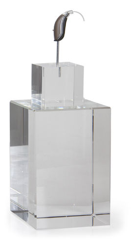 Glass cube big with glass cube with stick big without Dummy
